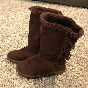 Old Navy girls boots Sz 3